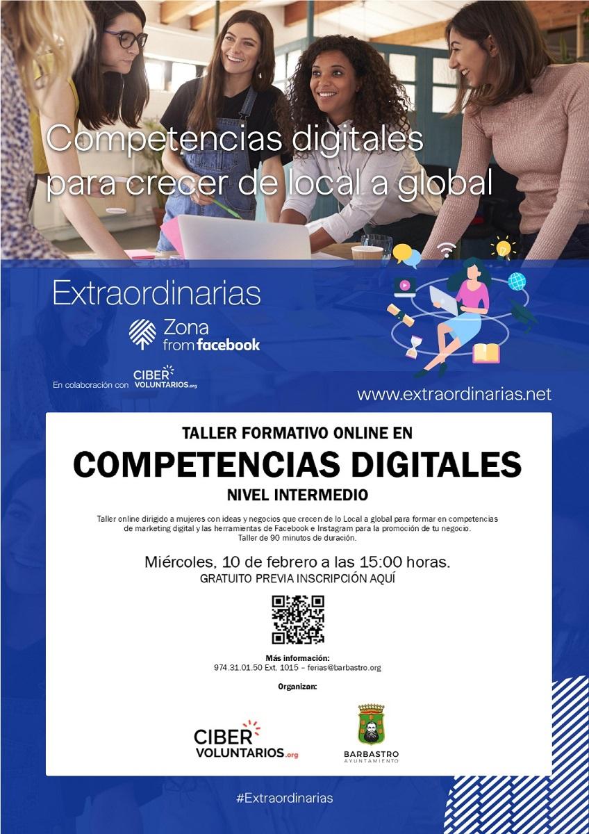 El Ayuntamiento organiza un Taller de competencias digitales para emprendedoras