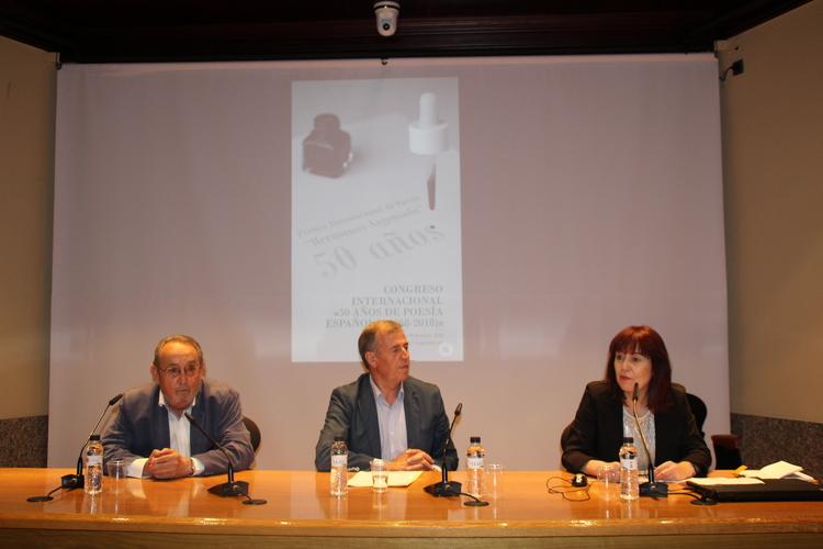 El Congreso 50 años de Poesía Española abre nuevas vías de colaboración entre especialistas