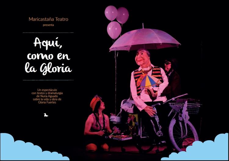 El teatro infantil llega el sábado con Gloria Fuertes como protagonista
