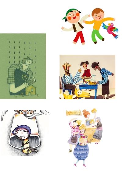 Las ilustraciones de los libros de Sandra Araguás en la exposición De los sueños al papel