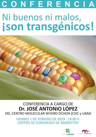 Ciudad Ciencia acerca el mundo de los transgénicos en la primera charla del año