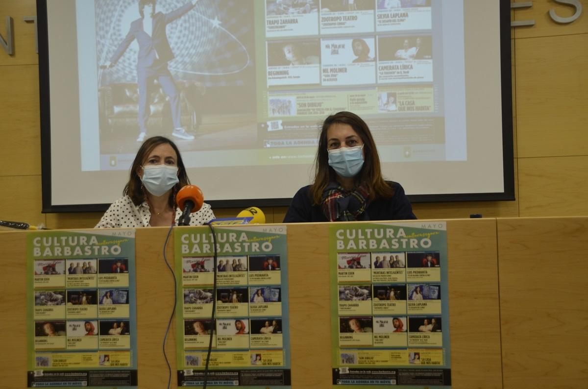 El Ayuntamiento de Barbastro presenta su propuesta cultural para los meses de mayo y junio