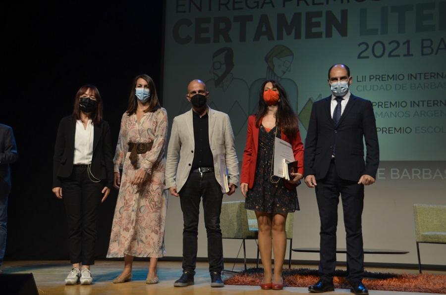 Barbastro entrega los premios y presenta las obras ganadoras del Certamen Literario 2021