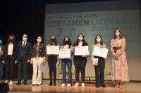 Certamen_Literario_2021_Galardonadas_XXII_Premio_de_Narrativa_EScolar_Ayuntamiento_de_Barbastro