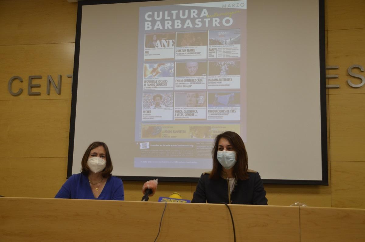 El Ayuntamiento de Barbastro presenta su programación cultural para los meses de marzo y abril