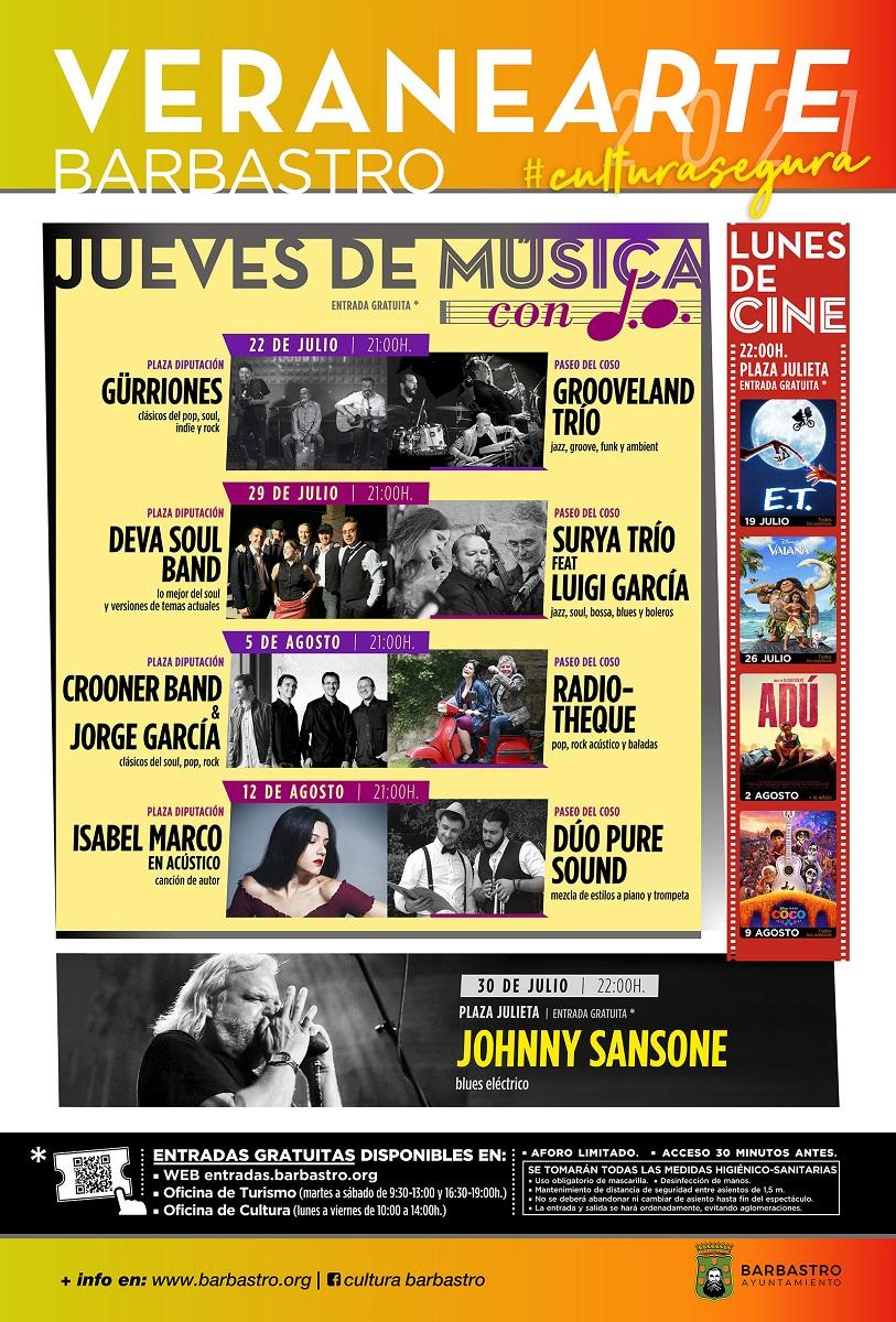 Grooveland Trío y Gürriones abren hoy los 'Jueves de música con D.O.' de Veranearte 2021