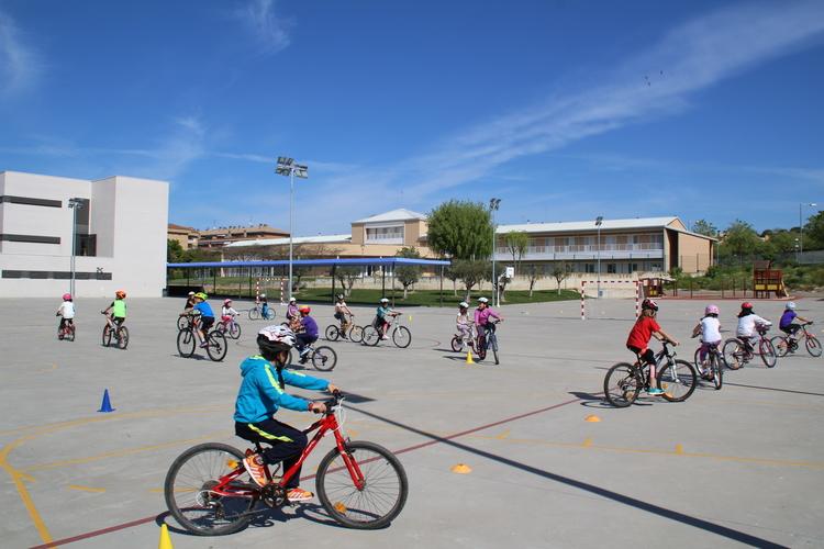Más de 750 alumnos volverán a pedalear con el programa Aula en bici