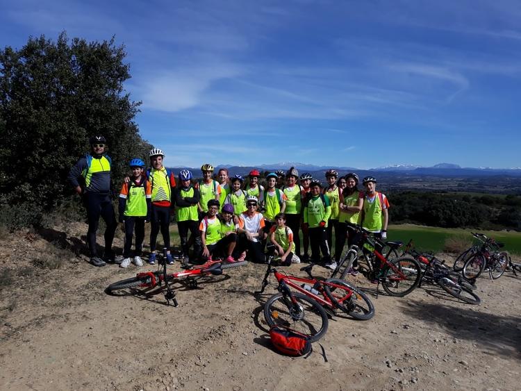 El Aula en bici ha comenzado esta semana llevando sus prácticas a los cinco colegios de la ciudad