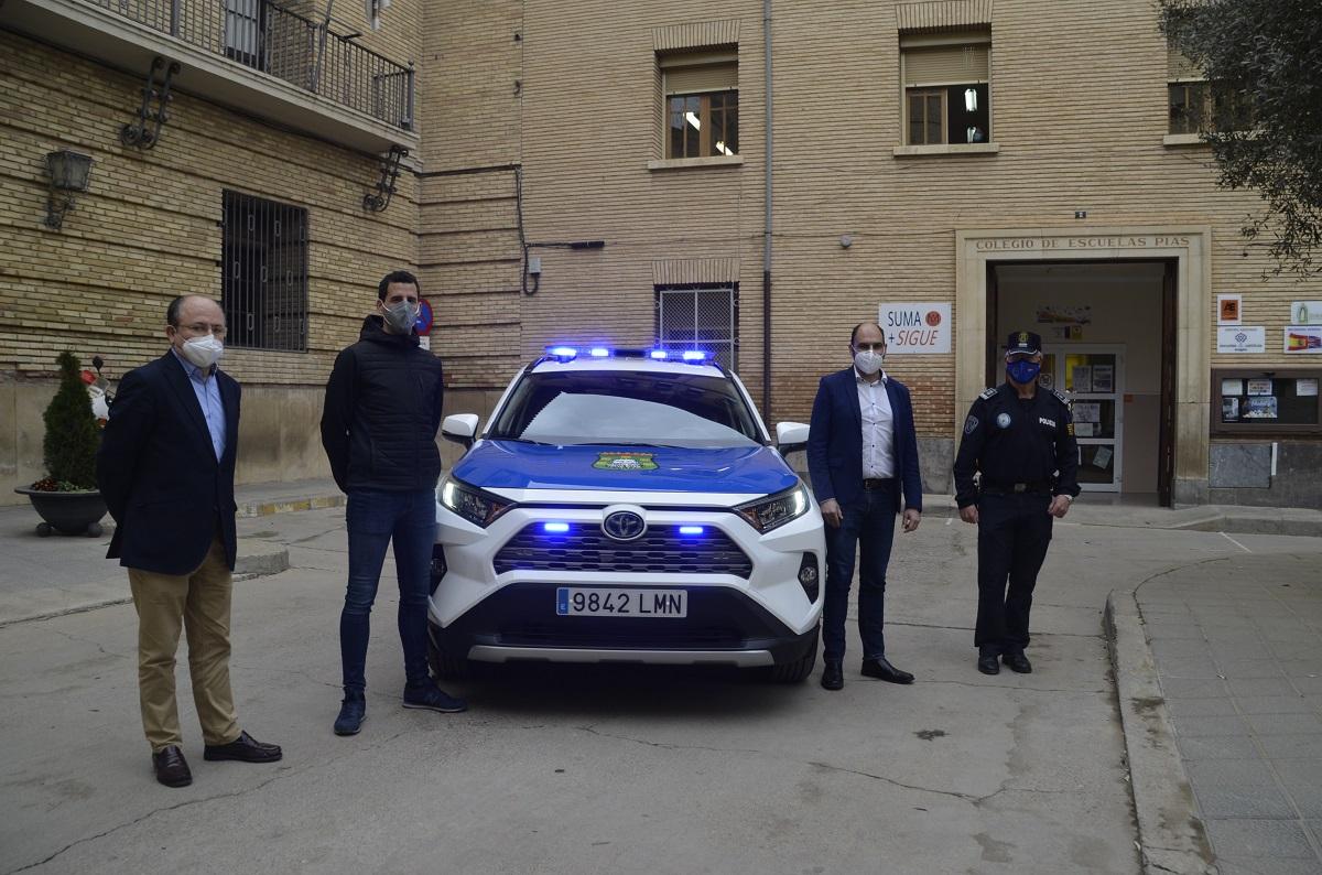 El Ayuntamiento de Barbastro dota de un nuevo vehículo a la Policía Local