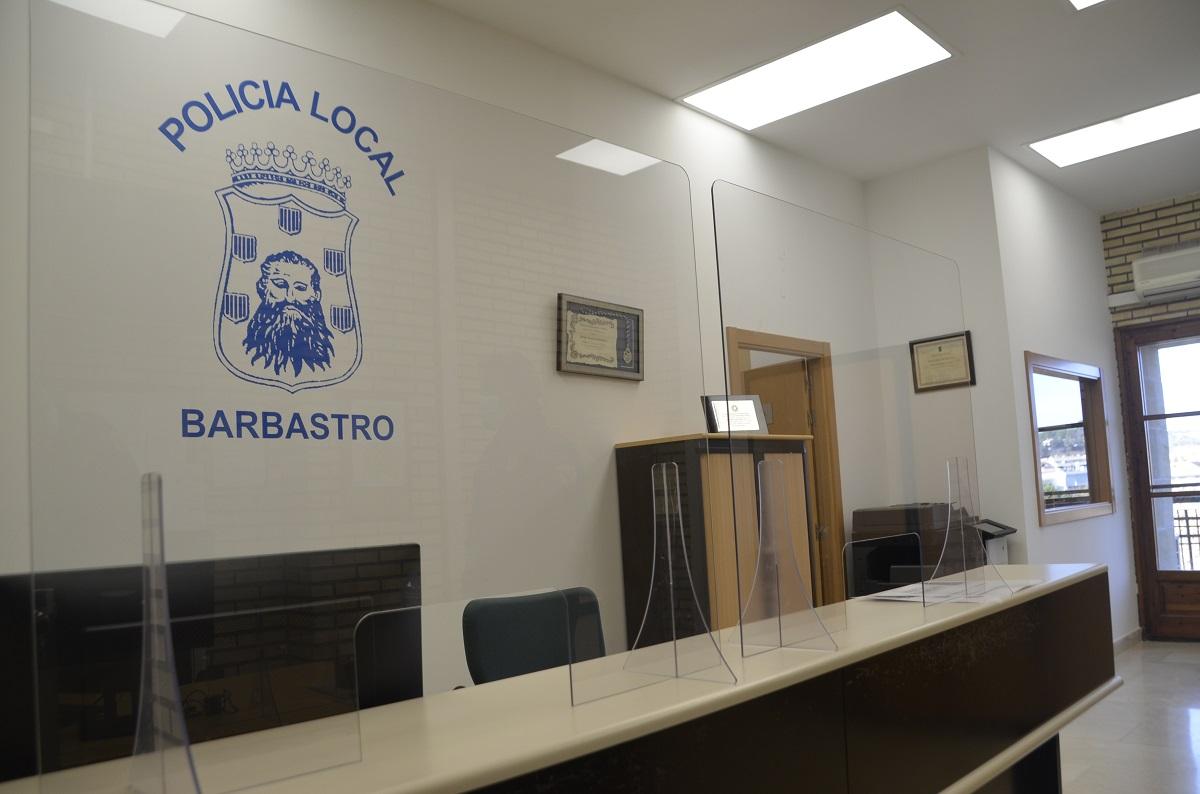 La Policía Local de Barbastro dispone de unas dependencias más amplias y accesibles