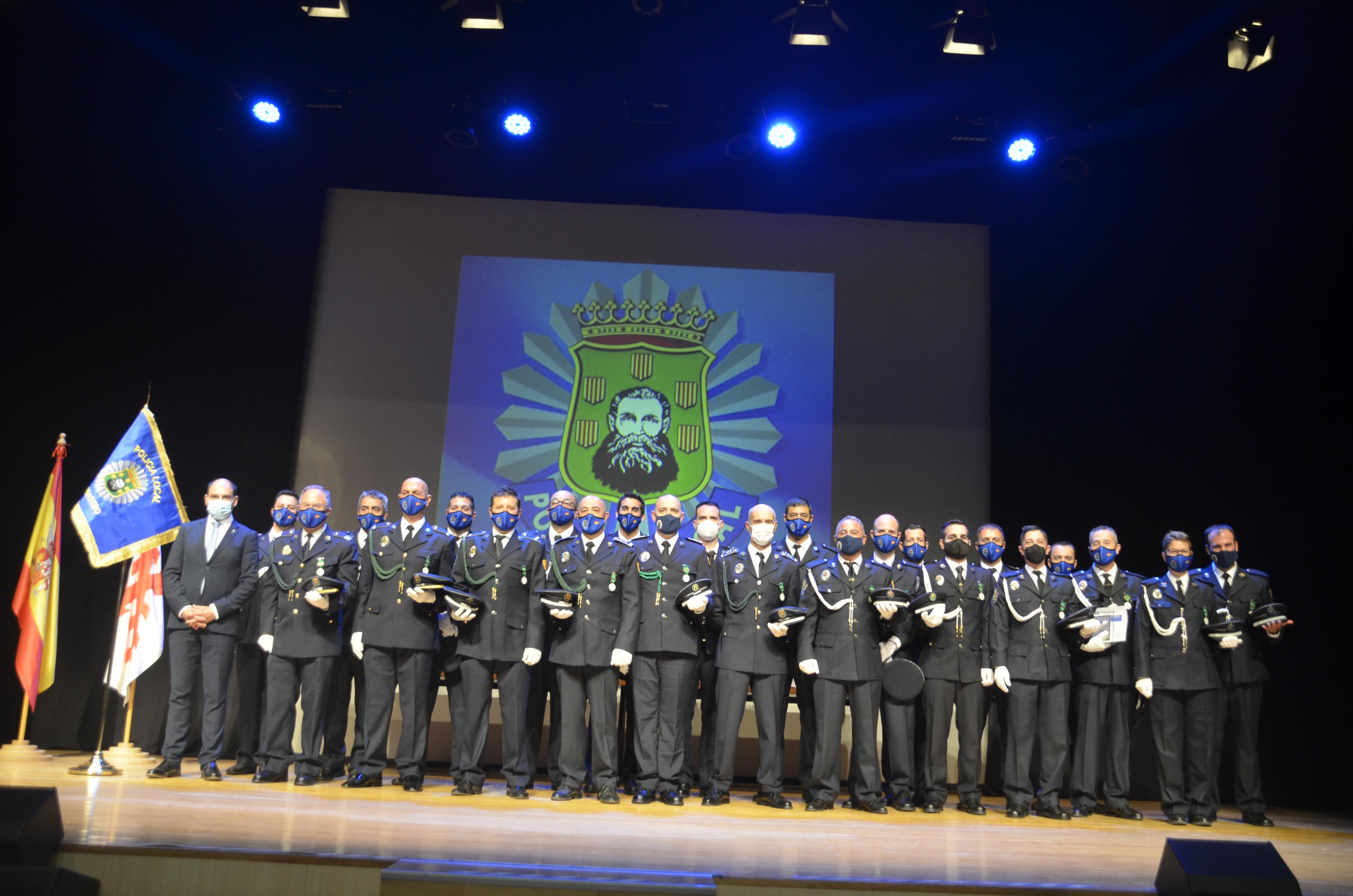 La Policía Local de Barbastro celebra la festividad de los Ángeles Custodios