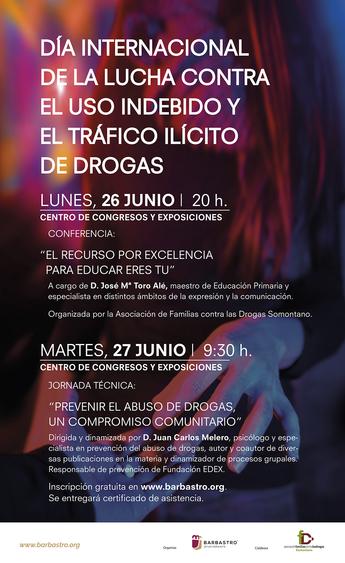 Una jornada aborda la prevención del abuso de drogas como un compromiso comunitario