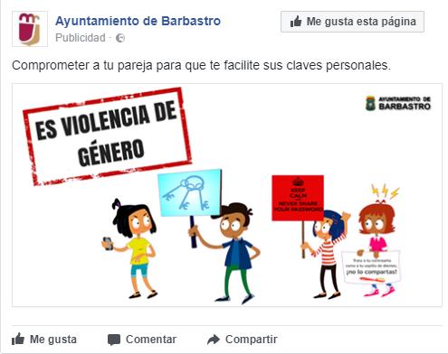 Campaña en redes sociales para prevenir las agresiones sexuales