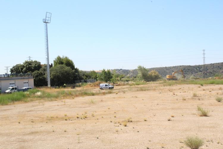 Comienzan las obras de las pistas municipales de atletismo