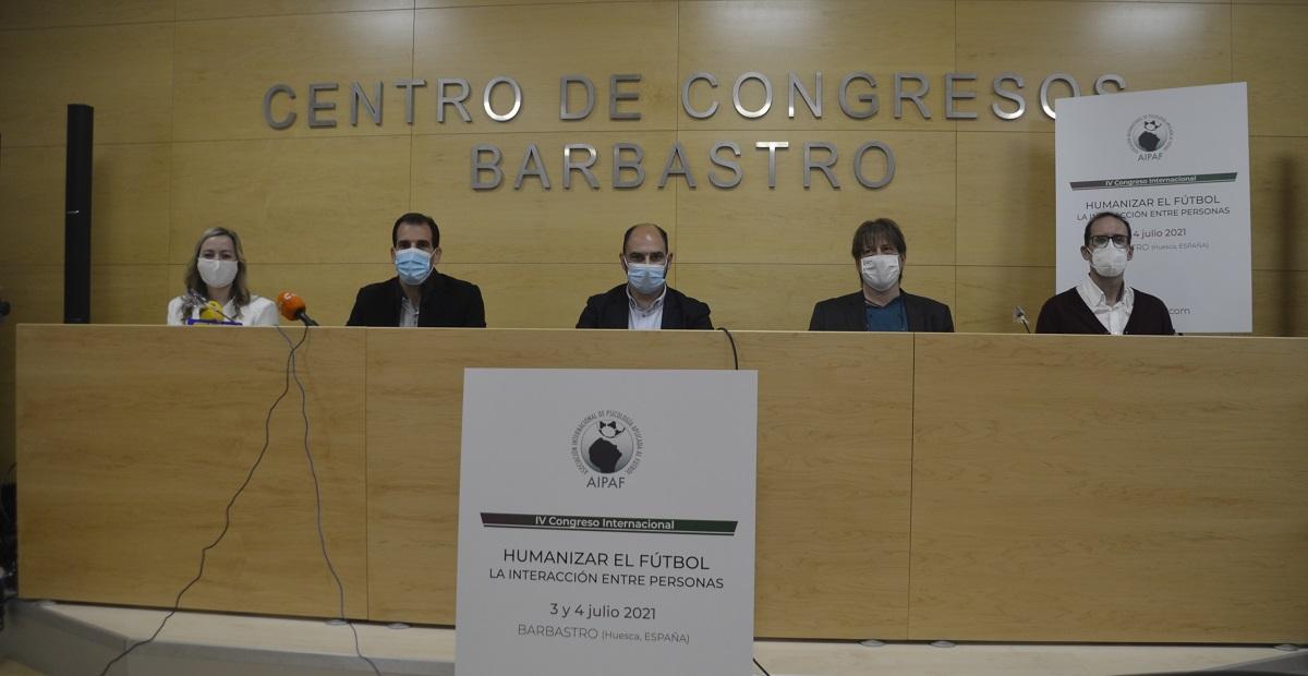 Barbastro acogerá el IV Congreso de la Asociación Internacional de Psicología Aplicada al Fútbol