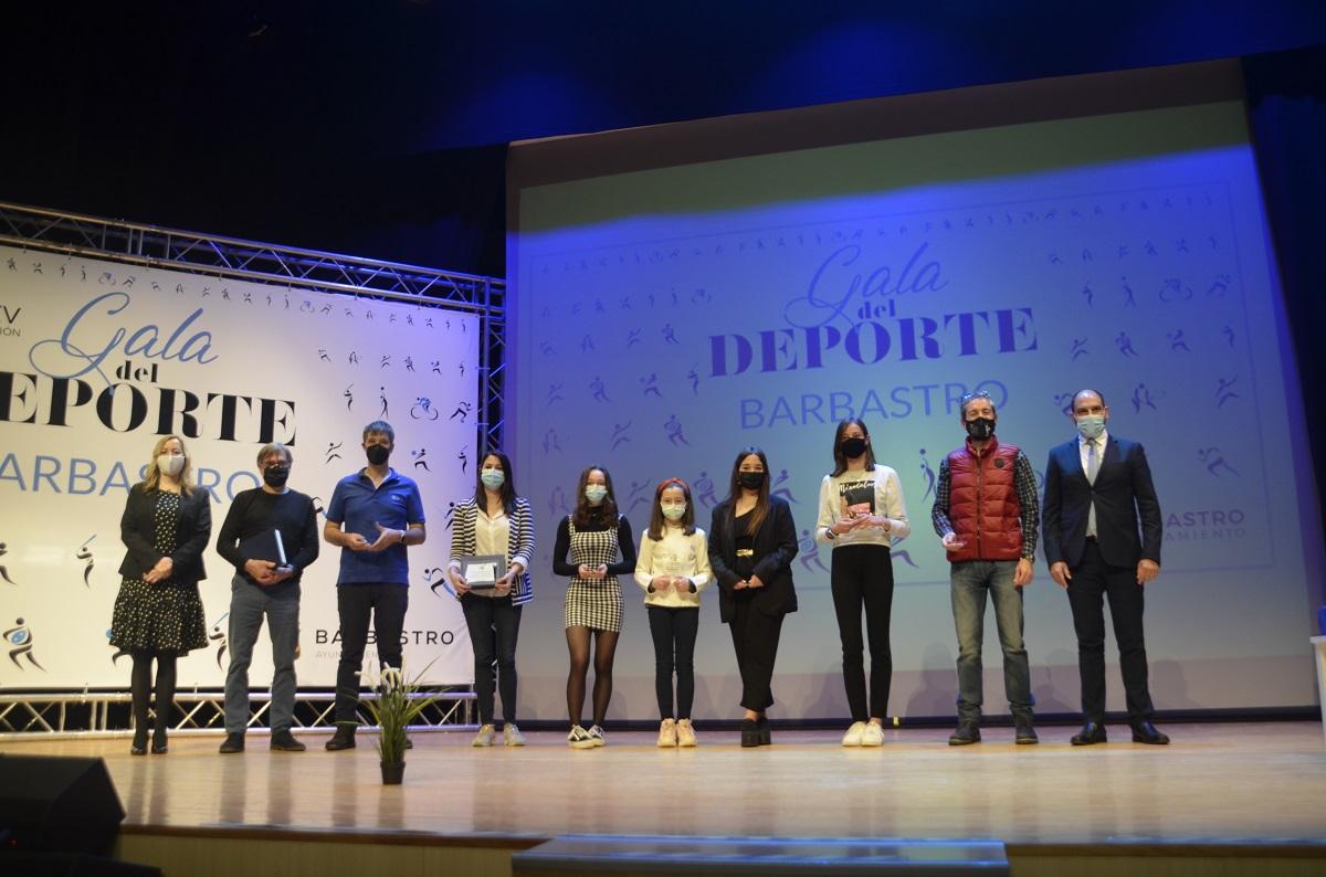 Barbastro reconoce a sus deportistas en la XXV Gala del Deporte Barbastrense