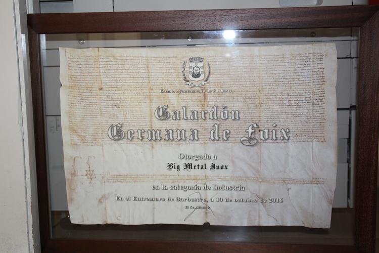 El Ayuntamiento convoca la sexta edición de los Galardones Germana de Foix