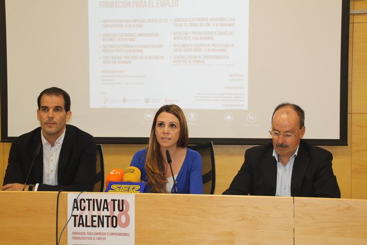 Activa tu talento'18 ofrece 9 acciones formativas para empresarios y trabajadores