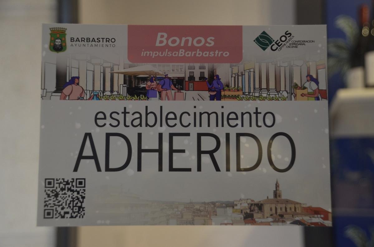 Agotados los bonos de la primera acción de la campaña Bonos Impulsa Barbastro