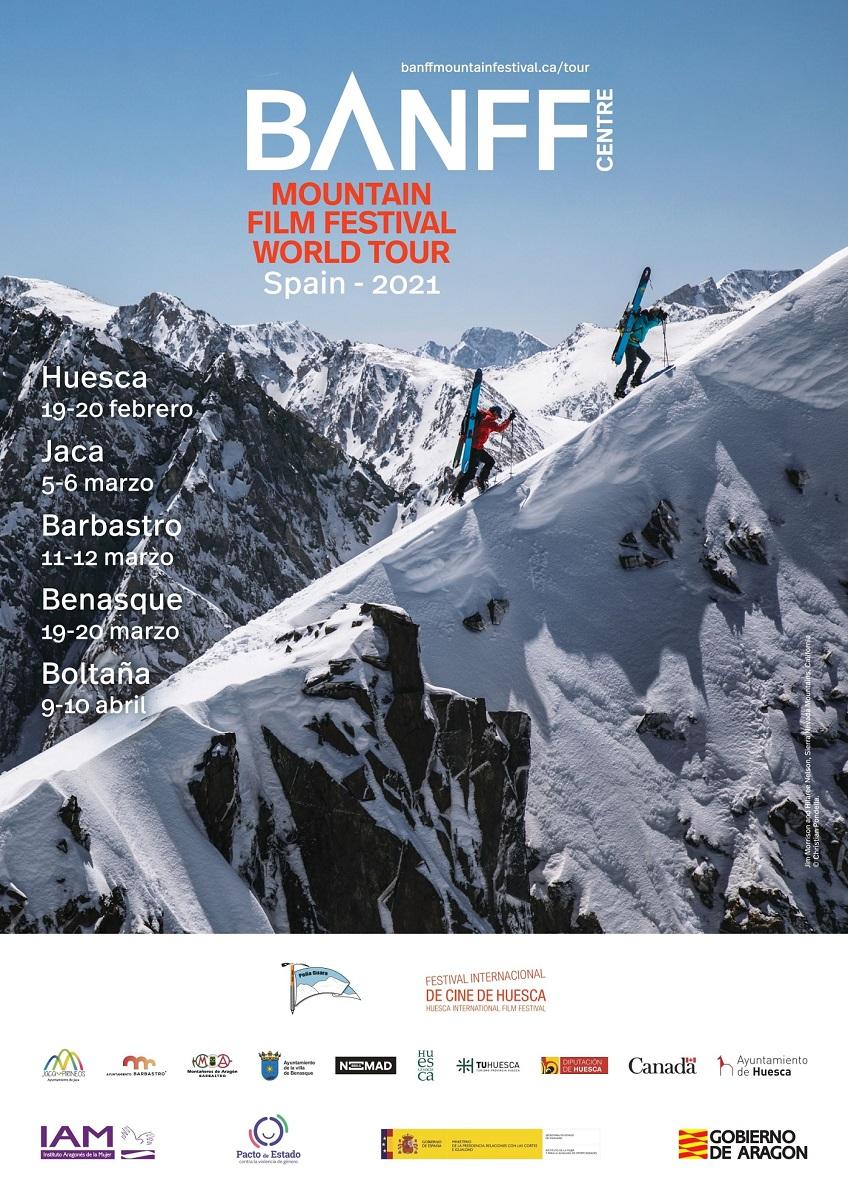 El Banff Mountain Film Festival llegará a Barbastro el 11, 12 y 13 de marzo