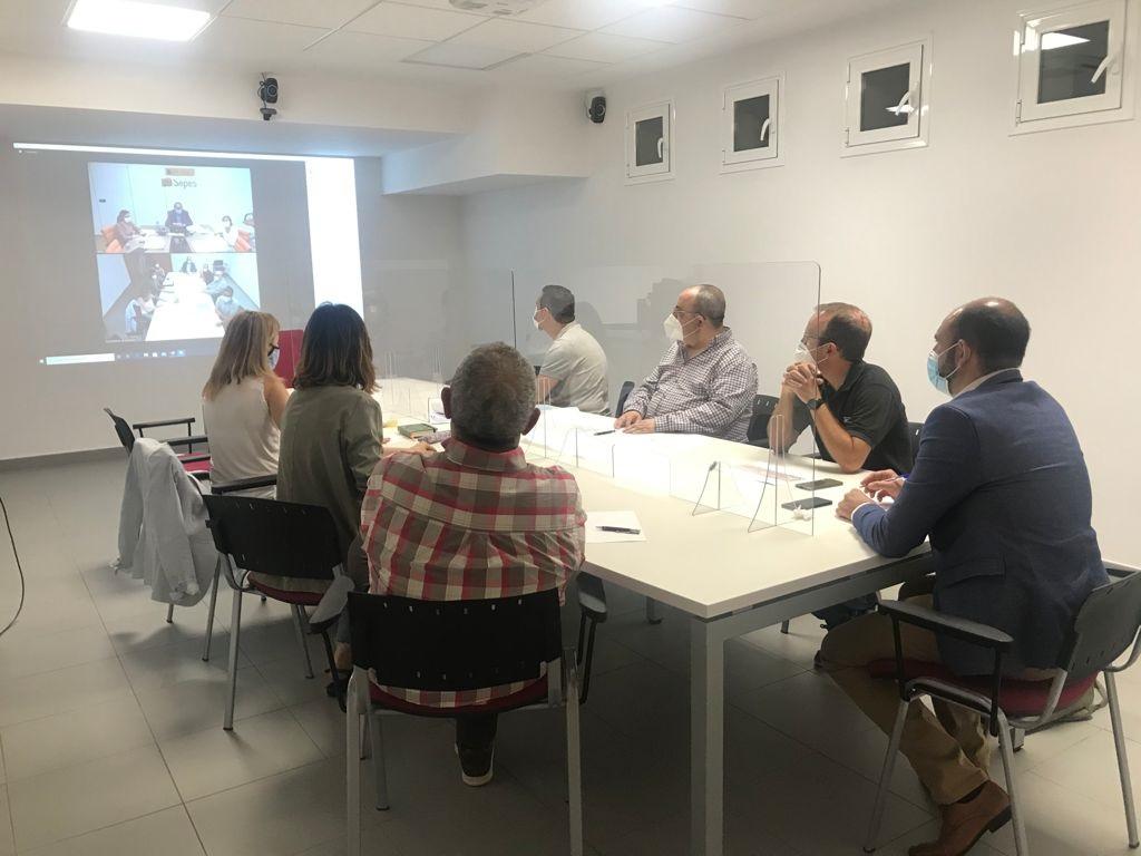 El Ayuntamiento de Barbastro mantiene una reunión de trabajo con el SEPES