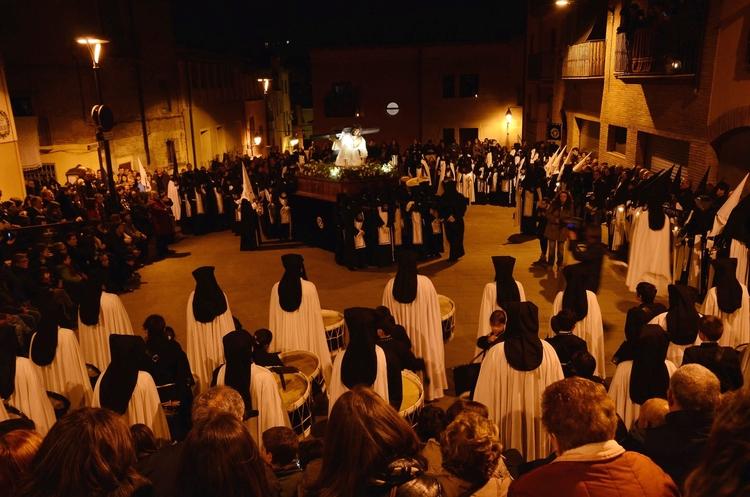 Barbastro vive su primera Semana Santa como Fiesta de Interés Turístico Nacional