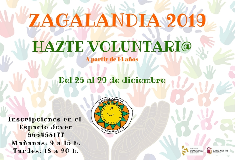 Convocado el concurso del cartel anunciador de Zagalandia 2019