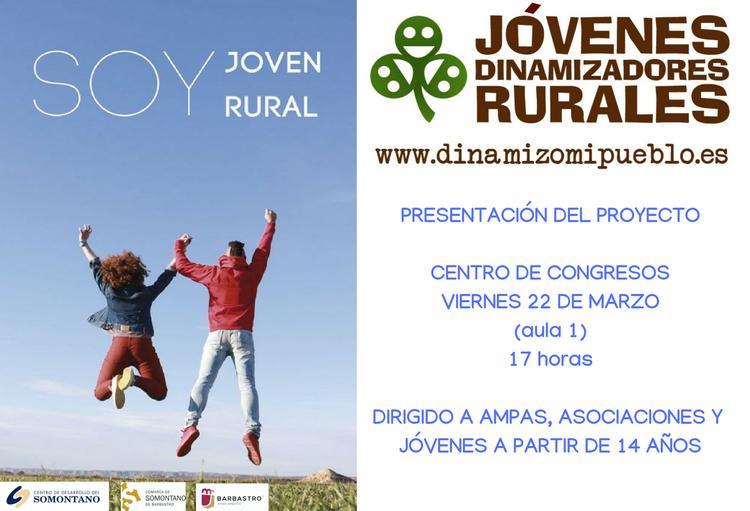 Charla para conocer el proyecto Jóvenes Dinamizadores Rurales