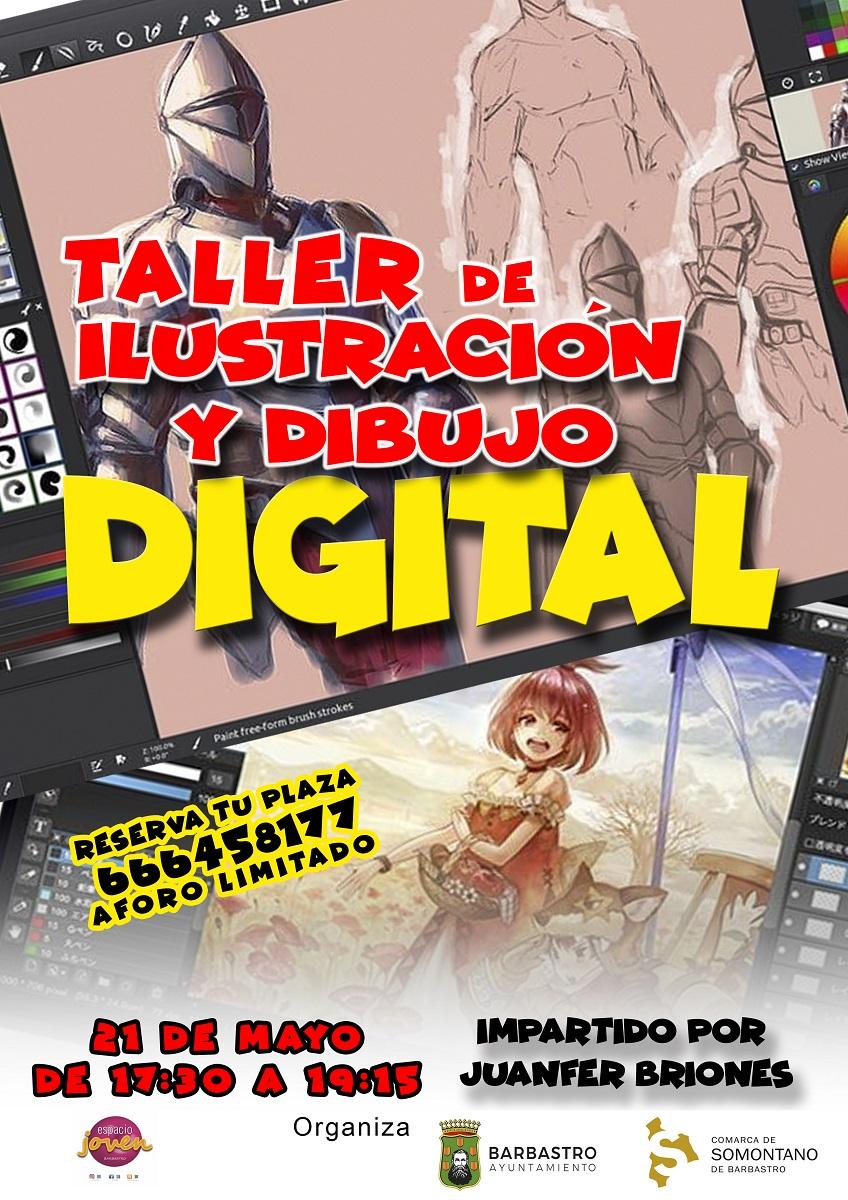 El Espacio Joven de Barbastro organiza un Taller de Ilustración con Juanfer Briones