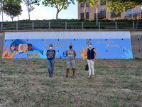 Mural_contra_violencia_de_gnero_en_memoria_de_Hassna_Ayuntamiento_de_Barbastro