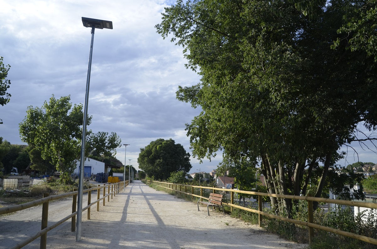 El Ayuntamiento de Barbastro adecúa un tramo urbano de la futura Vía Verde