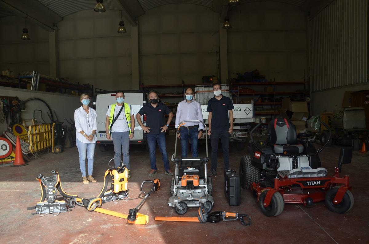 El Ayuntamiento de Barbastro renueva el equipo de jardinería