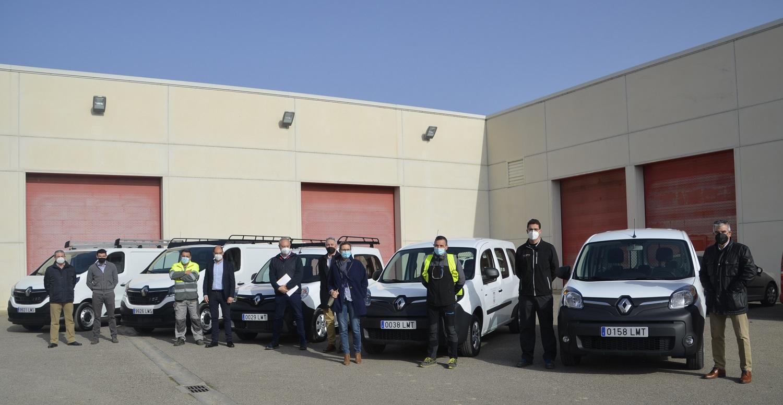 El Ayuntamiento de Barbastro renueva la flota de vehículos del Área de Servicios