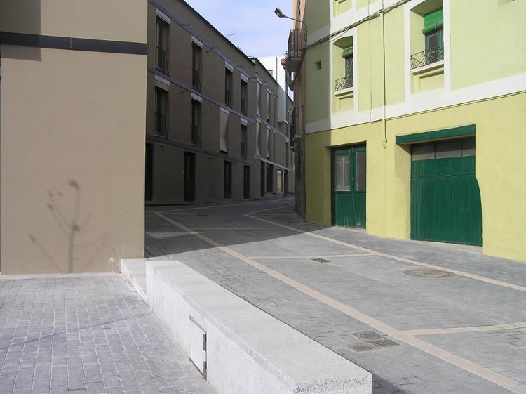 Restricciones de tráfico en la calle Los Cubos por las obras de la Ronda Norte