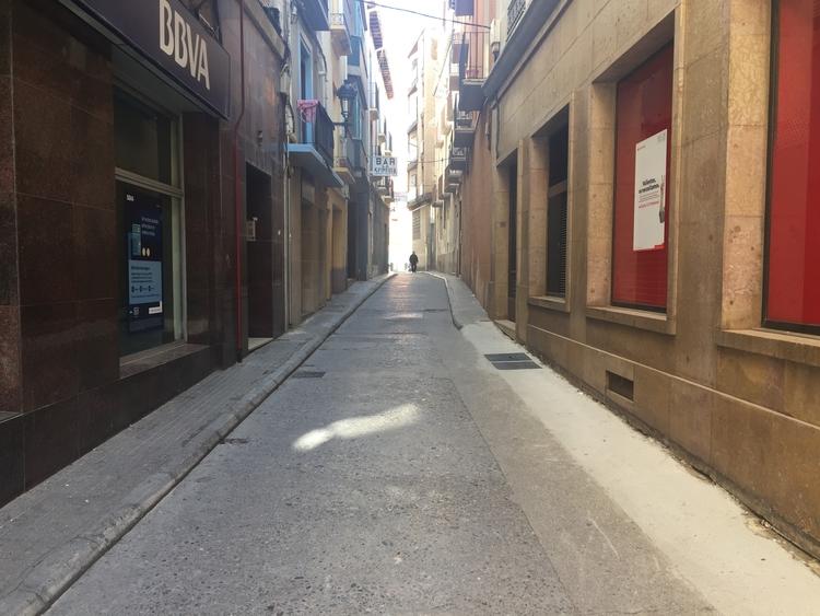 El martes comienza la reurbanización de dos tramos de las calles Argensola y Martínez Vargas