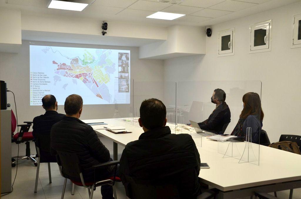 El Plan de Movilidad Urbana Sostenible de Barbastro centra la Comisión de Urbanismo